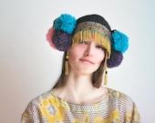 UTHA Pom-Pompia - festival headdress - hat - party hat