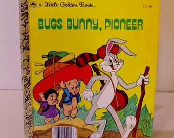 Bugs Bunny  Little Golden Book 1977 First Edition