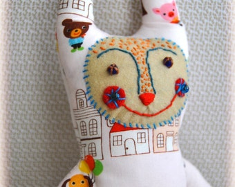 One of a kind hand made soft doll