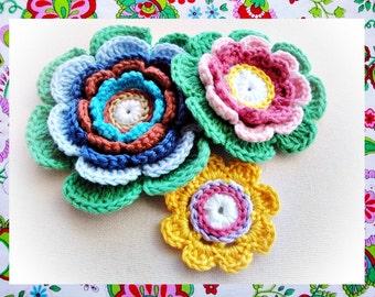 Delighted Petals Crochet Pattern