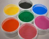 Magic Shadow Dust - Thermo Changing Gradient Pigment - Array of Colors Changing to Clear or Light - SAMPLER Pack All 7 Colors