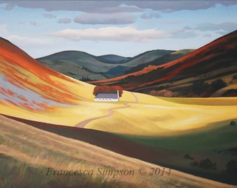 College Valley - Limited edition print (Small)