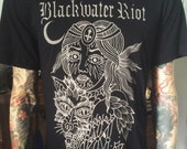 Blackwater/Riot - Wolf Witch tee