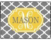 Door Mat, Personalized Door Mat, Monogrammed Doormat, Custom Indoor Outdoor Floor Rug, Front Door Mat