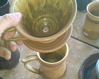 Drip Coffee/ Tea Maker, Sandstone brown