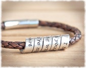 Hidden Message Bracelet • Jewelry For Him