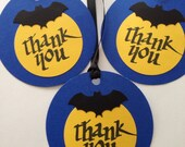 BATMAN inspired Thank you TAGS