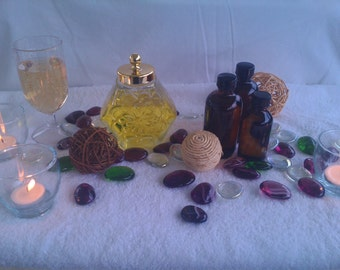All Natural Massage Oils