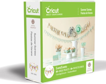 "Cricut Cartridge - ANNA GRiFFIN "" SUMMER SOIREEs "" - Brand New -"