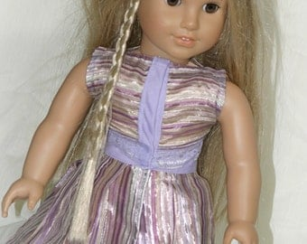 Blouse and Skirt Made for 18 inch American Girl Doll or any other 18 inch doll