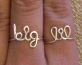 Little and Big Ring set (lil and big)