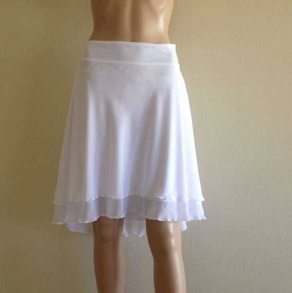 White Evening Skirt 33
