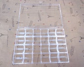 Small Parts or Beads Display Storage Box Case with 24 Compartments, Clear Plastic Box