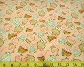 Pink Cupcakes Flannel by Camelot Cottons