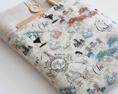 New iPad Case, iPad 1 - 4 Padded Cover, Eco Friendly iPad Cover : Paris Chick Fashion