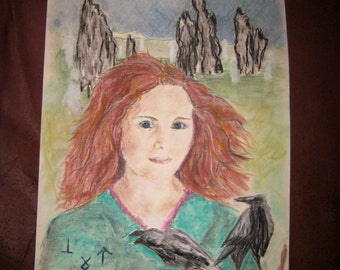Readings, Psychic reading. Spirit guide drawing