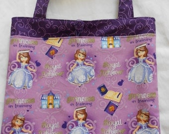 Princess Sofia the First Tote Bag Trick or Treat Bag Easter Basket