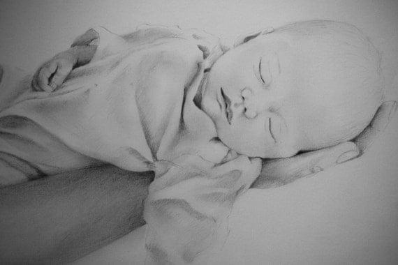 Dibujos de beb s recien nacidos a lapiz imagui for Recien nacido dibujo