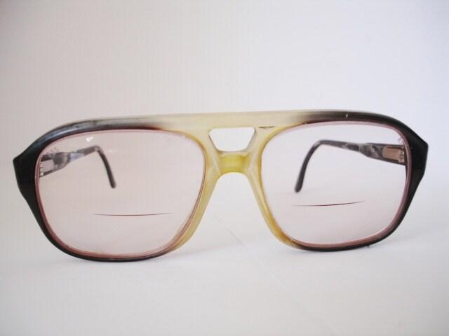 Vintage Eyeglass Frames Etsy : Vintage pair of Mens Eyeglasses See our huge by myspecs ...