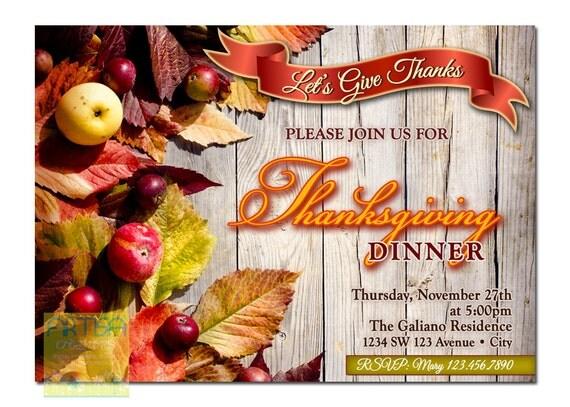 thanksgiving dinner einladung danksagung einladung familie, Einladungen