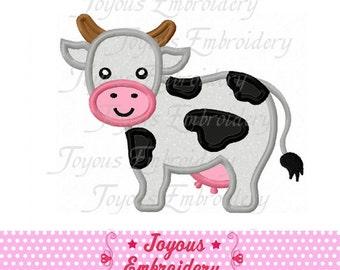 Instant Download Cow Applique Embroidery Design NO:1547