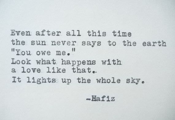 hafiz love quotes - photo #25