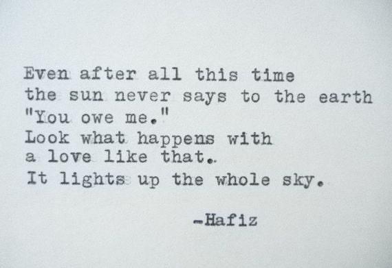 hafiz love quotes - photo #25