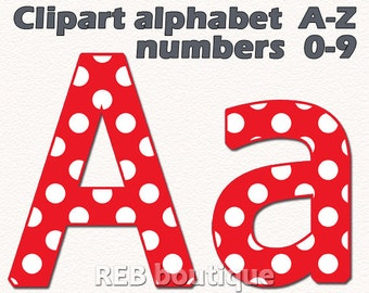 Number Names Worksheets dot to dot letters and numbers : Polka dot letters   Etsy
