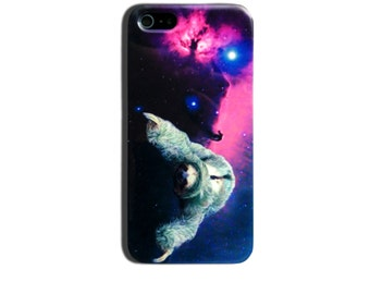Sloth In Space Meme iPhone 4 4s, iPhone 5/5s, 5c and iPhone 6 Hard Case Cover