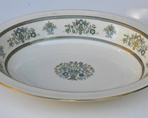 Minton China Serving  Bowl Henley Pattern