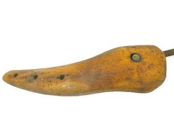 Vintage Wooden Shoe Stretch Cobbler Shoemaker