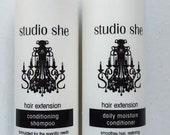 Hair Extensions Shampoo, Hair Extensions Conditioner, Hair Extensions Products, Hair Extensions