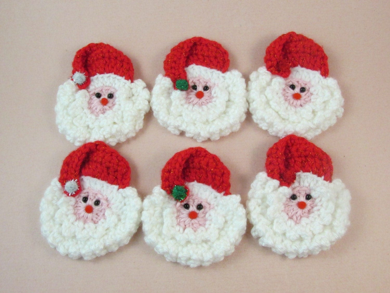 Pattern crochet santa face ornament patterns patterns kid vintage crochet pattern santa faces father christmas face 570x963 crochet bankloansurffo Image collections
