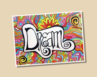 Dream Limited Edition Giclee Print 8x10 Signed and Numbered