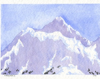 Cascades Card