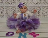 Perfectly Purple Tutu with Headband (Newborn to 5T)