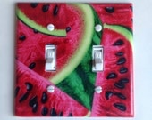 Watermelon Switchplate Set, 7 plate total