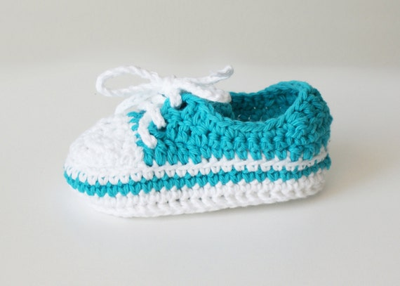 DIY Crochet PATTERN Chucky Baby High-Top & Sneaker Booties