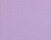 Lavender Fabric - Polka Dot Fabric - Swiss Dot Fabric - Riley Blake Fabric
