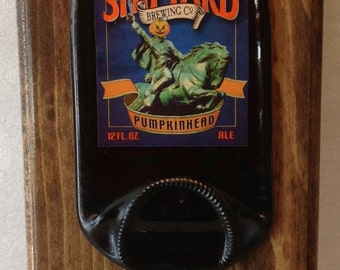 Shipyard Pumpkin Beer Opener Plaque