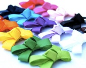 You Pick 5 - Bows for Barely There Hair - Snappie Baby Hair Clips - Baby Girl Bow