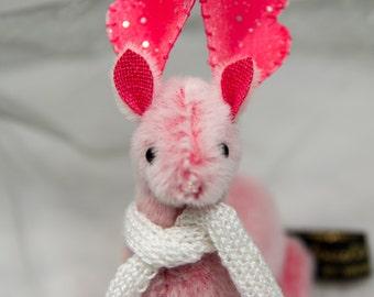 """OOAK Artist Reindeer by Tabbyclouds """"Prim"""" (Mohair Collector Teddy Bear)"""