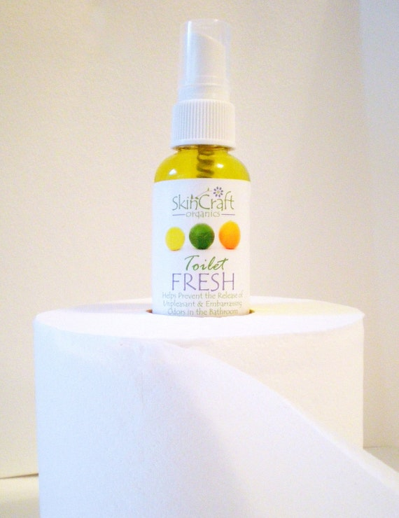 Toilet Fresh Bathroom Freshener / Deodorizer By