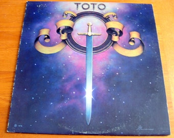 Vintage 1978 Toto Record Album