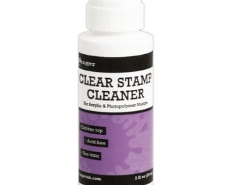 Inkssentials Clear Stamp Cleaner w/ Dabber Top