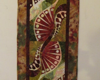 abstract table runner/wall hanging