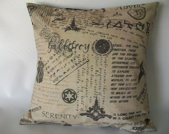 Multi-Fandom Geek Pillow Cover