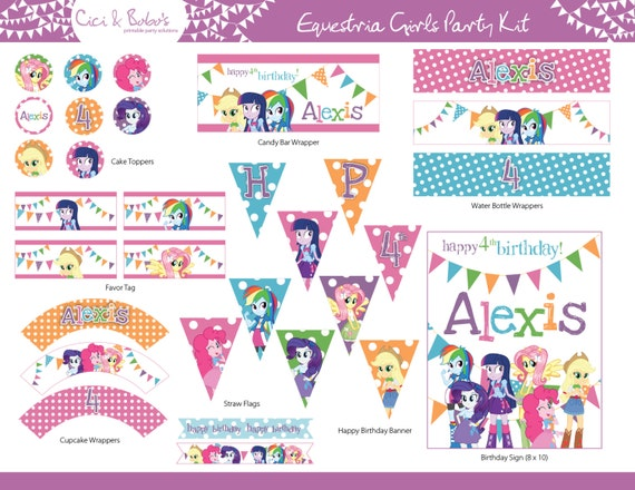 Free My Little Pony Invitations with adorable invitation ideas