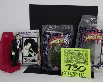 1980's Burger King / Universal Monsters Dracula and Creature