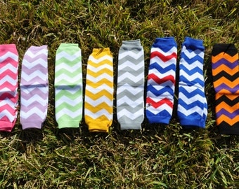 Chevron Leg Warmers- Customize Available
